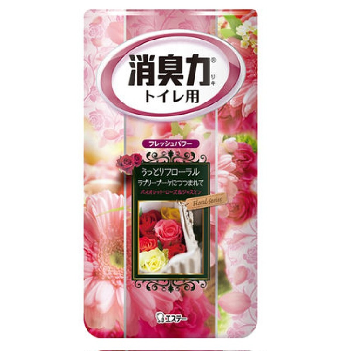 Toilet Aroma Deodorizer (Pink) #Lovely Floral 400ml