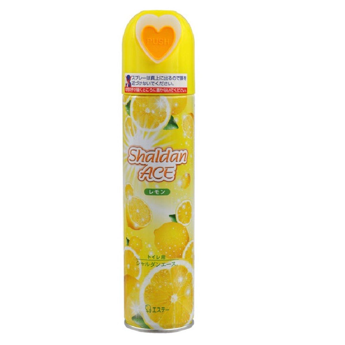 Shaldan Ace ♥愛心♥廁所噴霧(黃) #檸檬 230ml