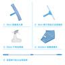 玻璃清潔5件套(30cm玻璃刮+35cm塗水器+伸縮桿+350ml噴壺+40cm玻璃布)