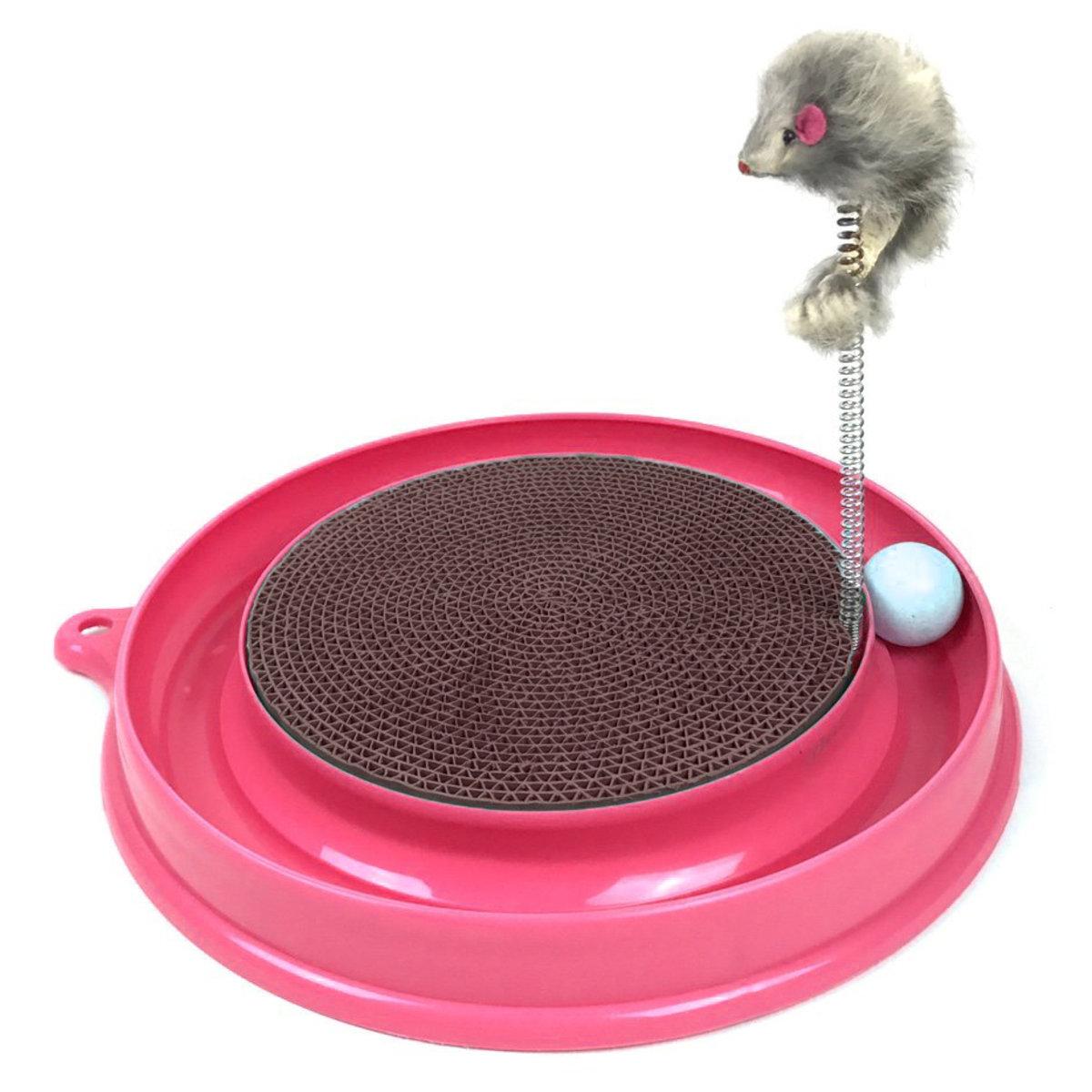 貓抓板 貓磨爪  老鼠逗貓棒 寵物玩具 貓用磨抓玩具