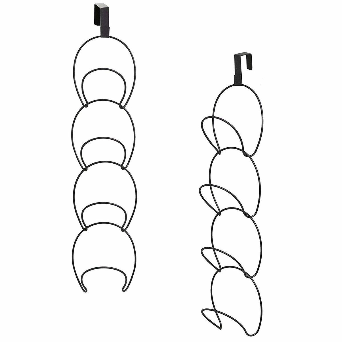 多功能收納整理掛鉤 門後掛鉤架 免釘無痕 連環掛鉤架