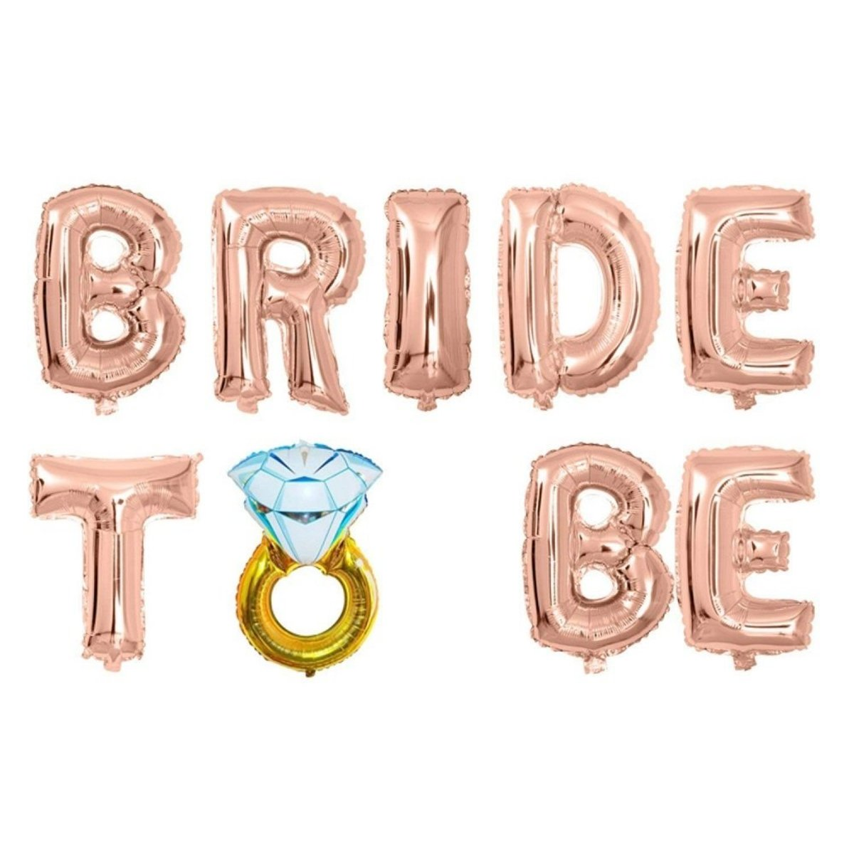 Bride To Be 16 Inch Letter Aluminum Balloon Wedding Party Decoration Balloon