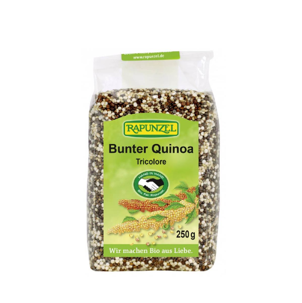 Organic Quinoa Tri-colour -Fair Trade(Gluten free)