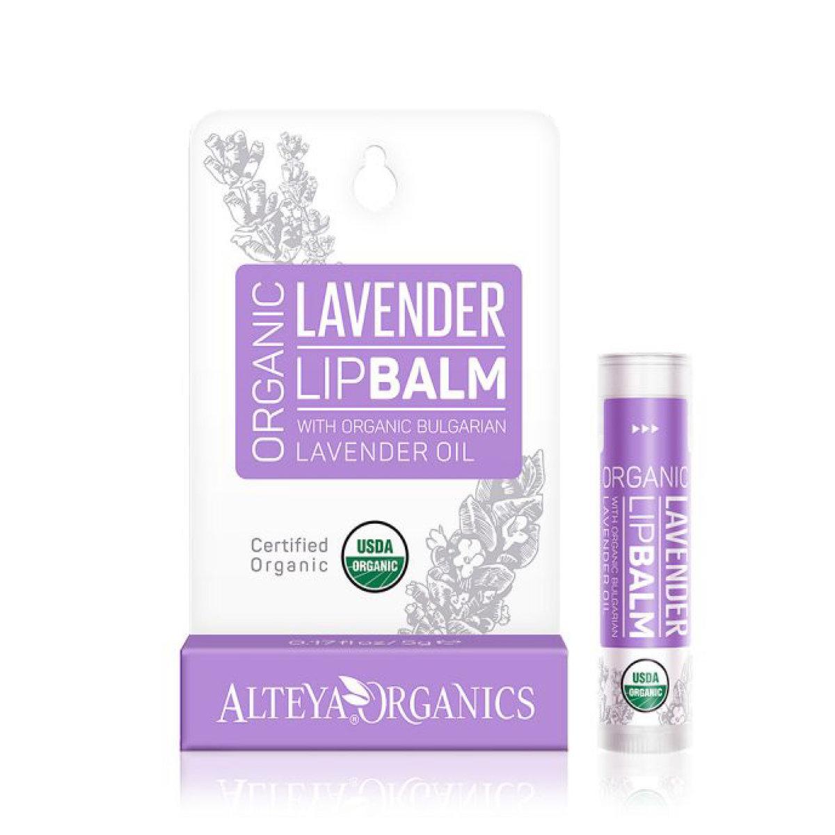 Organic Bulgarian Lavenderm Moisturizing Lip Balm