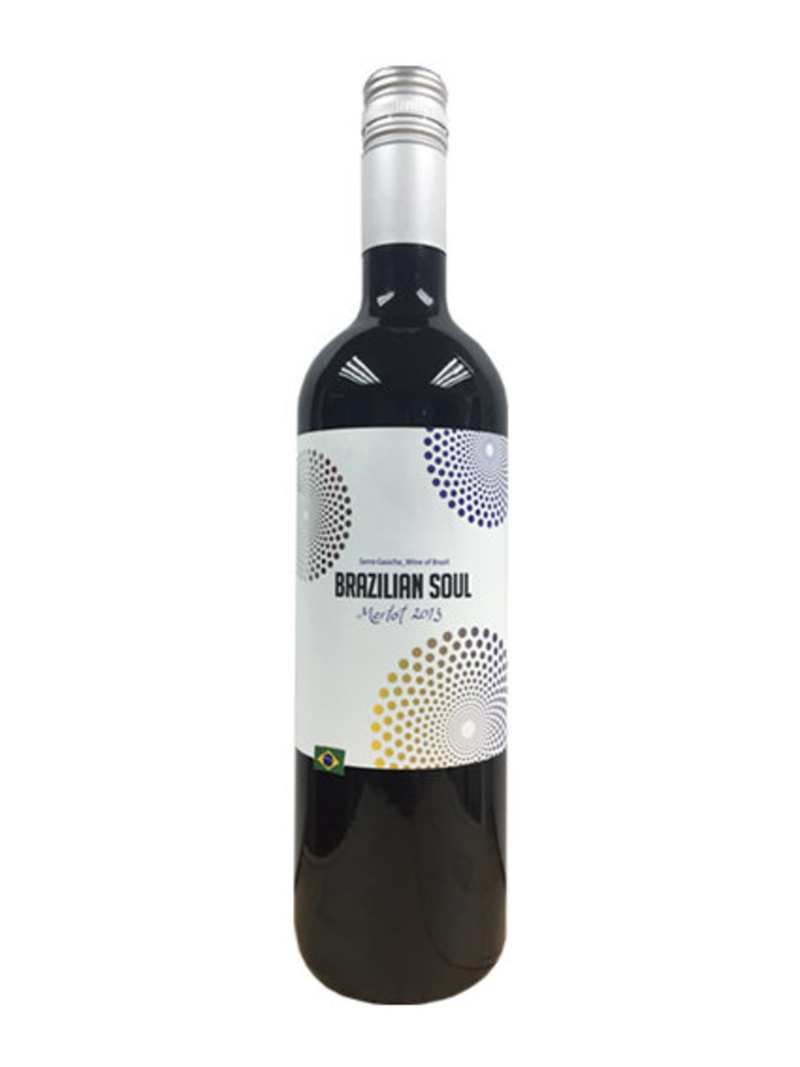 巴西靈魂梅洛紅酒 2013 (2支套裝) 750ml