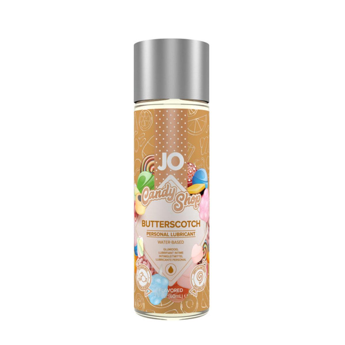 JO® H2O BUTTERSCOTCH 奶油口味可食用潤滑劑 60ml