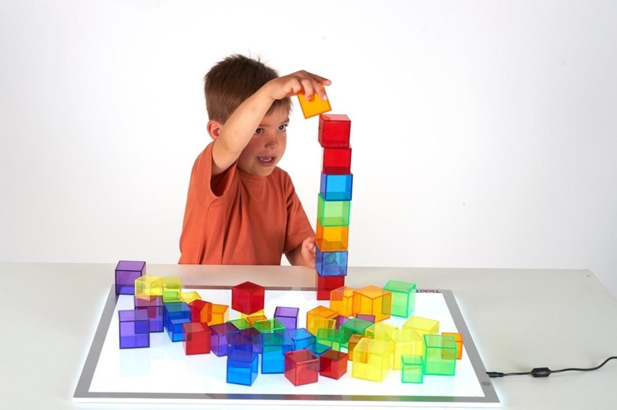 Translucent Cube Set - Pk54
