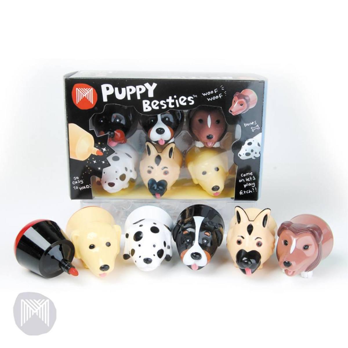 Besties Marker Mates - Puppy, Pack 6