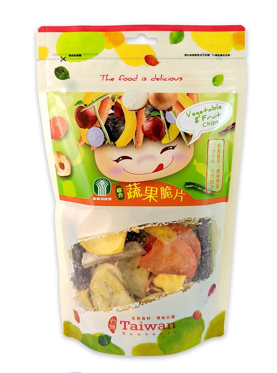 台灣 蔬果脆片 100g