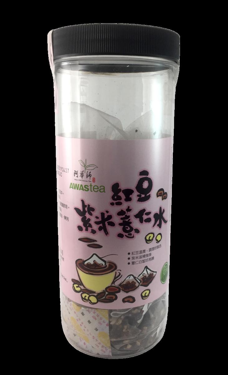 養生茶 - 紅豆紫米薏仁水  (15g x30小包)