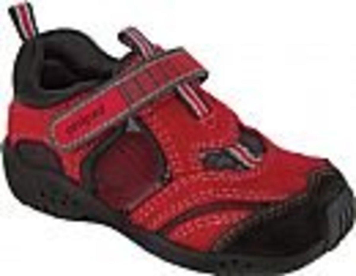 Pediped™ Flex Delmar Red Black (EUR32)