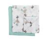 Purflo 英國嬰兒紗布巾2件装-長頸鹿(印花)