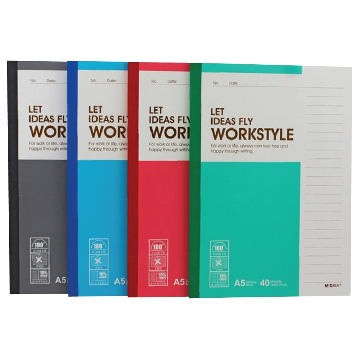A5 Notebook (60page)【3Pcs】