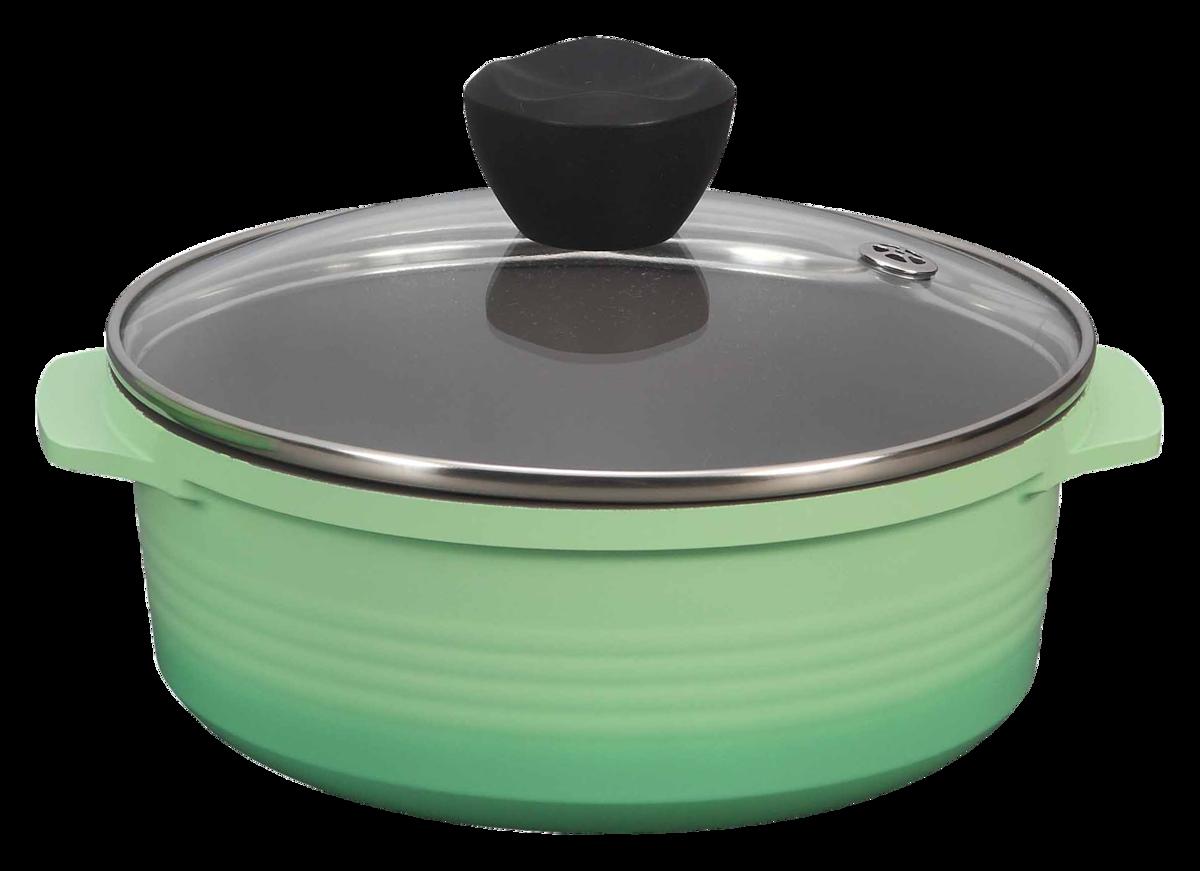 皇朝陶瓷鑄造系列-多功能鍋(18CM)