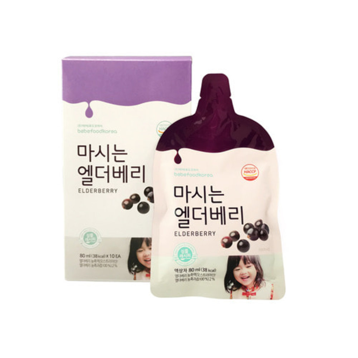 Elderberry Juice 80ml * 10ea (Parellel)