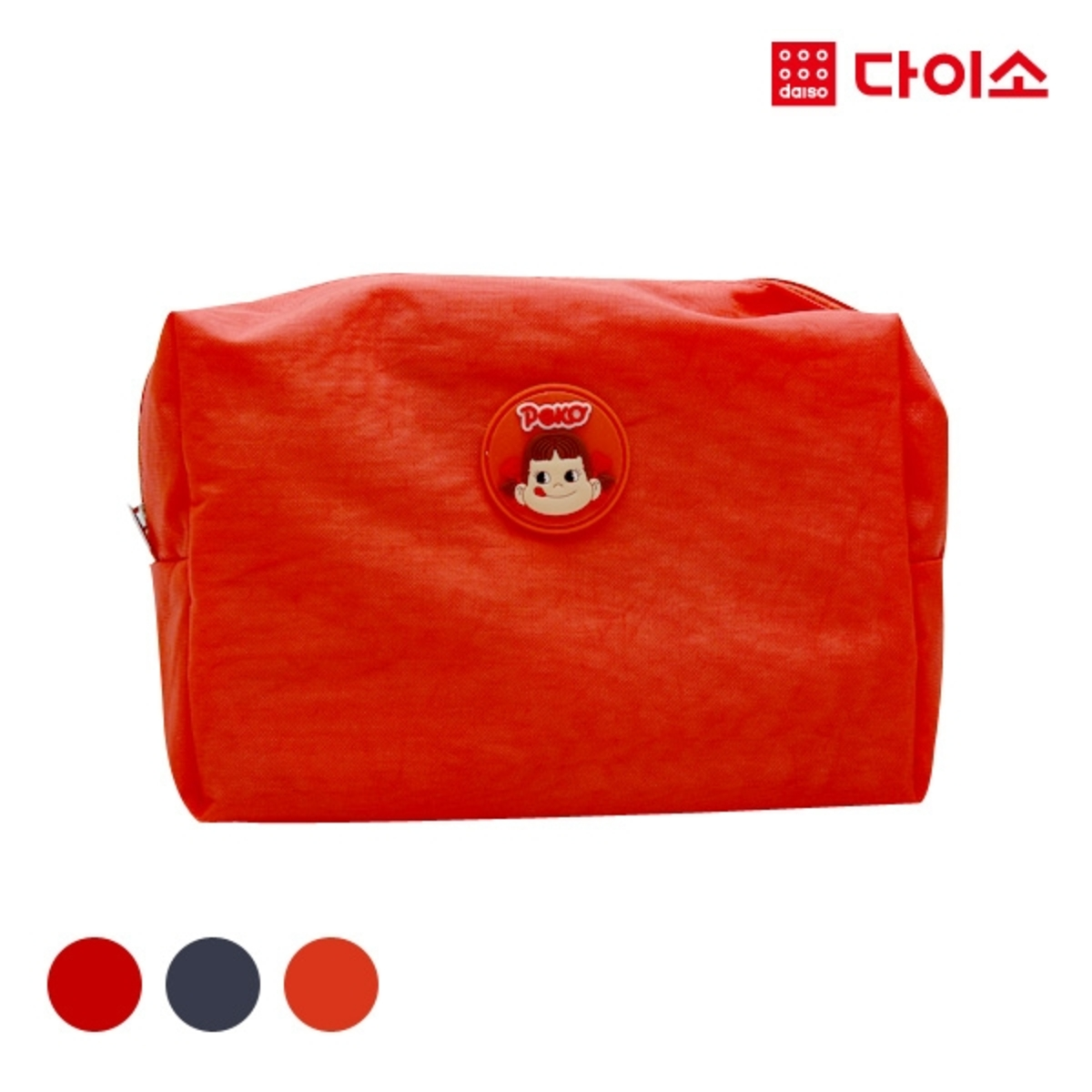 FUJIYAPEKOPOKO one point pouch L - Red