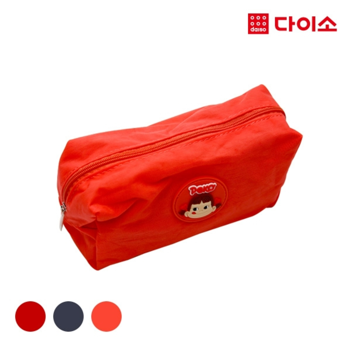 FUJIYAPEKOPOKO one point pouch S - Red