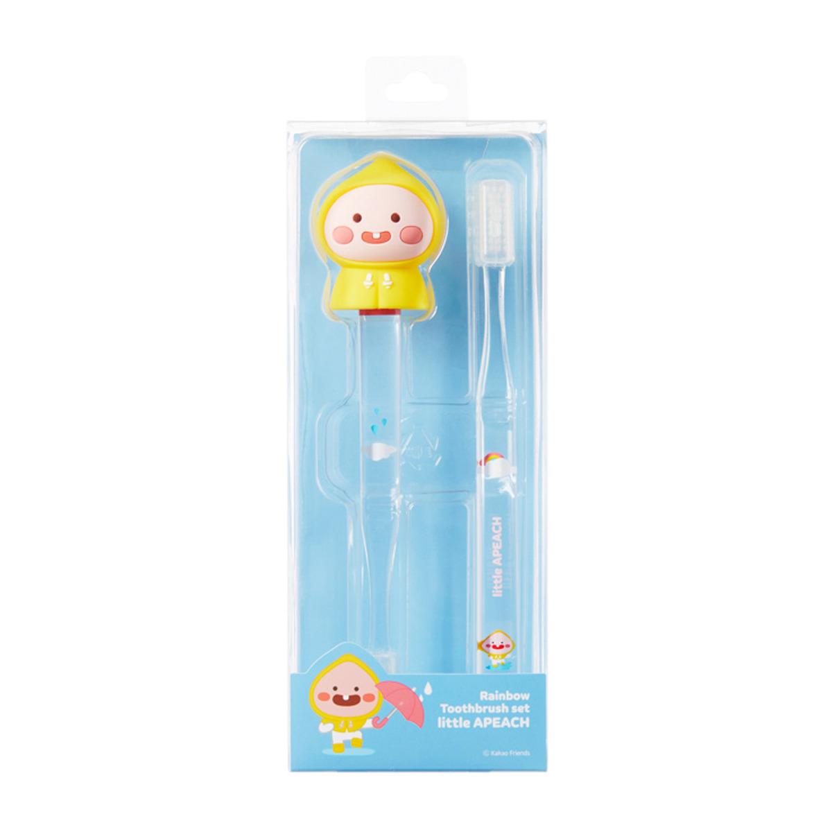 Toothbrush_Rainbow A Peach