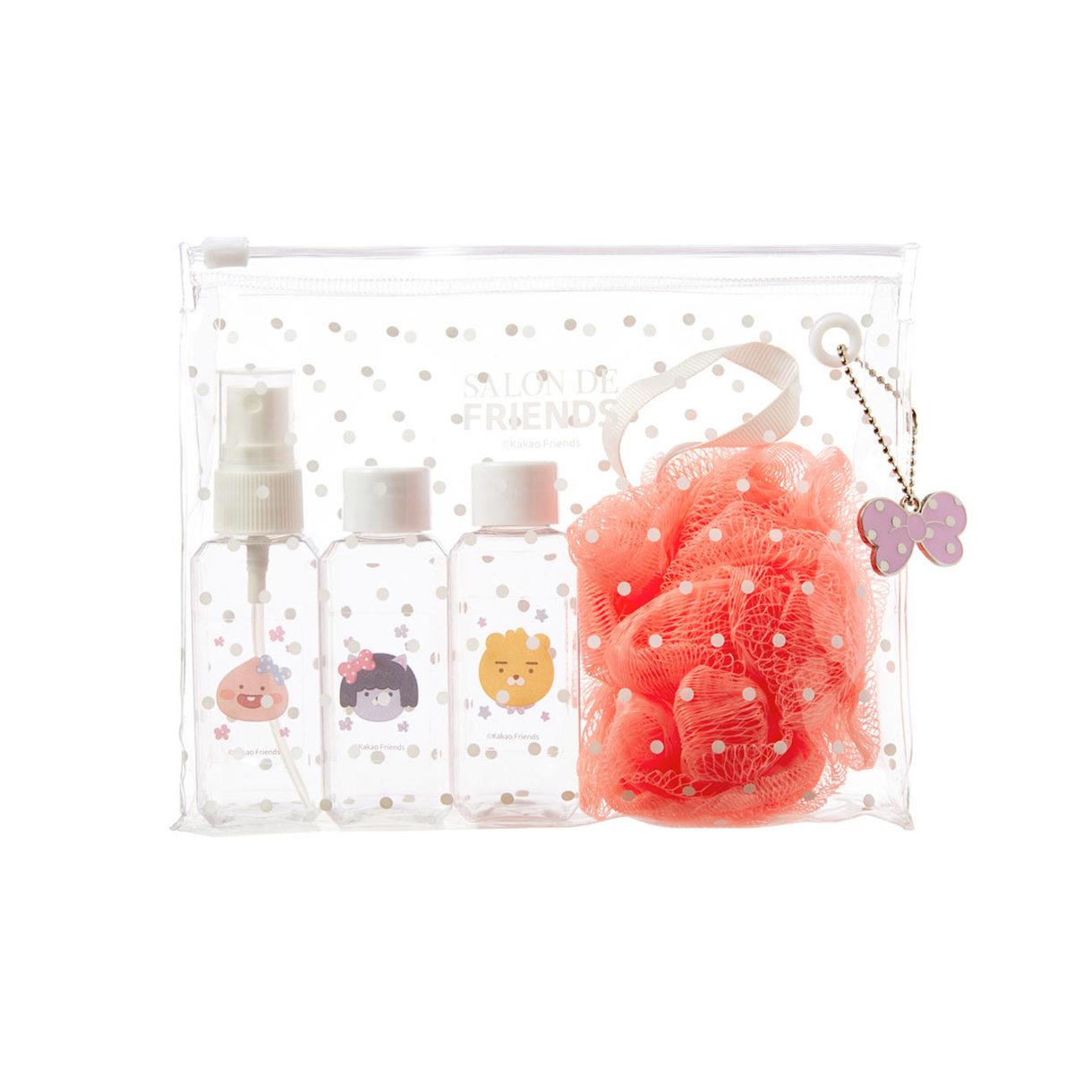Salon de沐浴袋(空瓶*3+洗澡球)