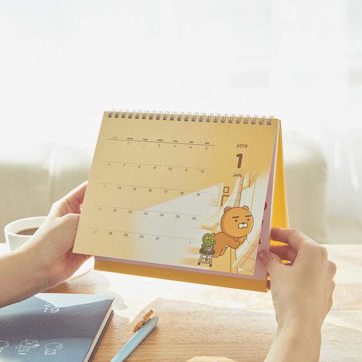 2019 桌上日曆