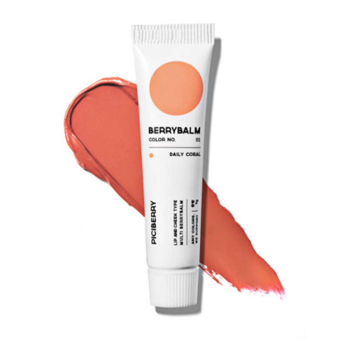 Berry Balm_Daily Coral 01 | 2019 Korea Big HIT Brand-Korea Direct Shipping