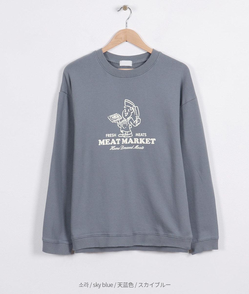 Printed Cartoon Long Sleeve T-Shirt