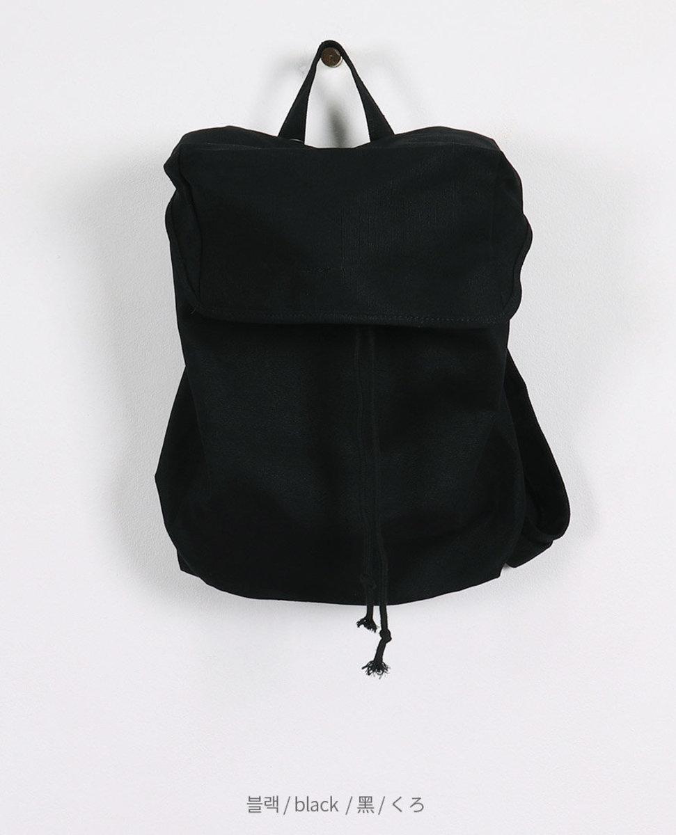 翻蓋款布質背包