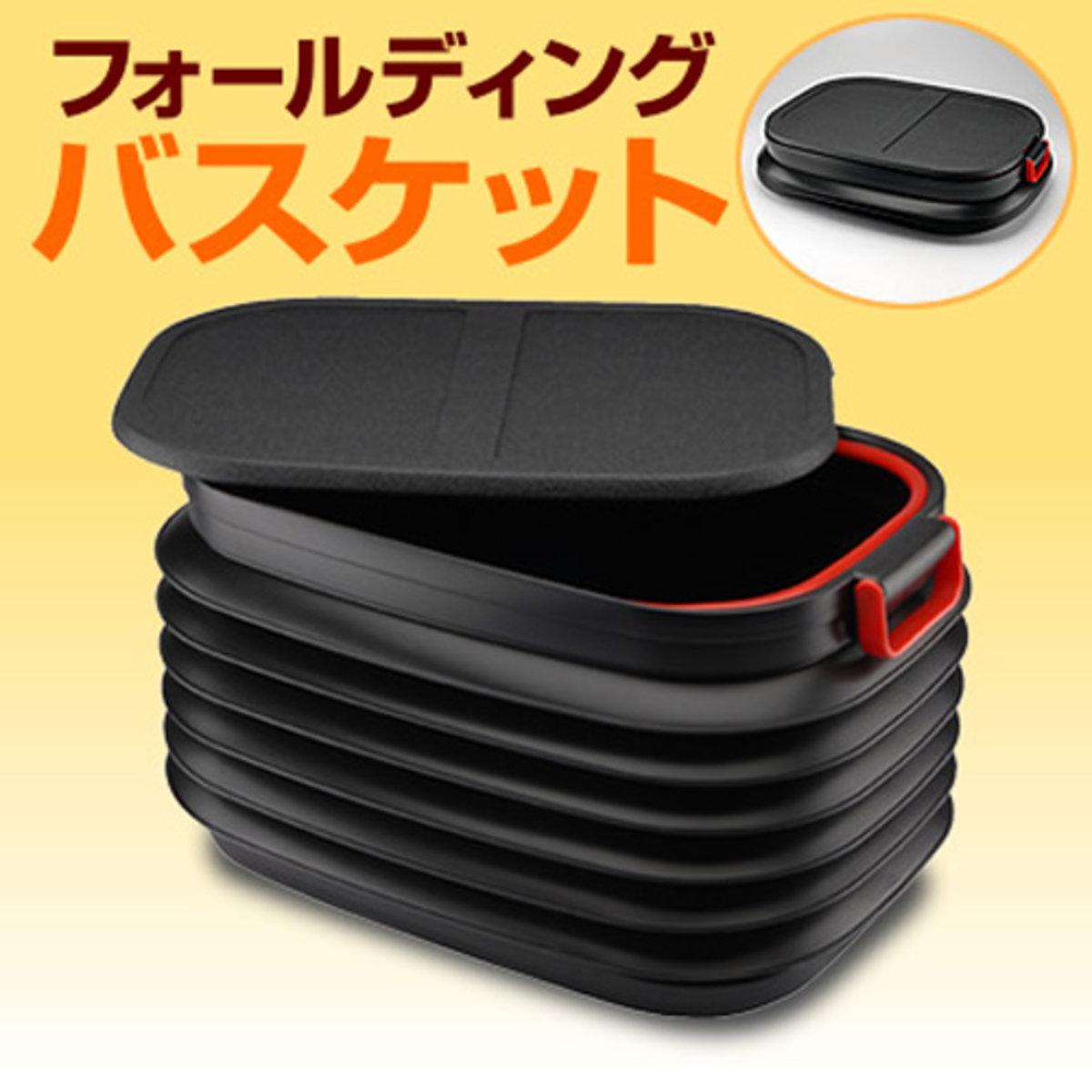 Expandable plastic water tank - black