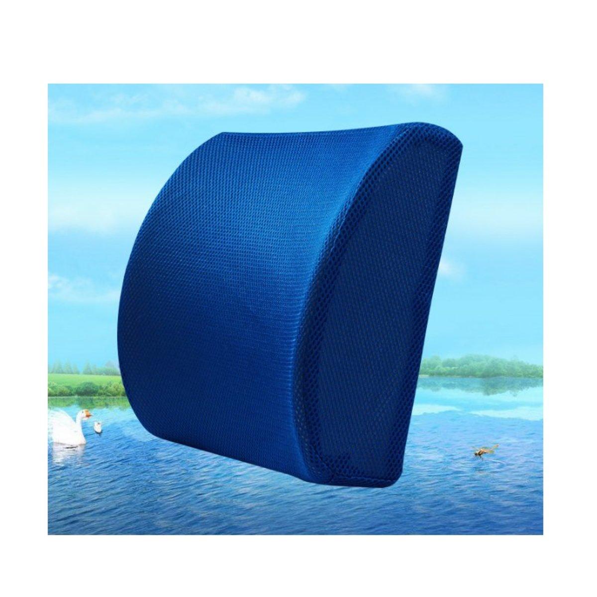 Ergonomic waist pad(black.blue)