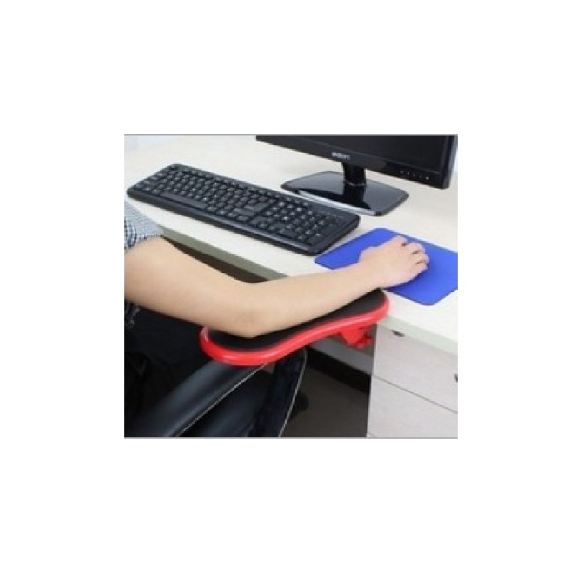Mouse hand holder