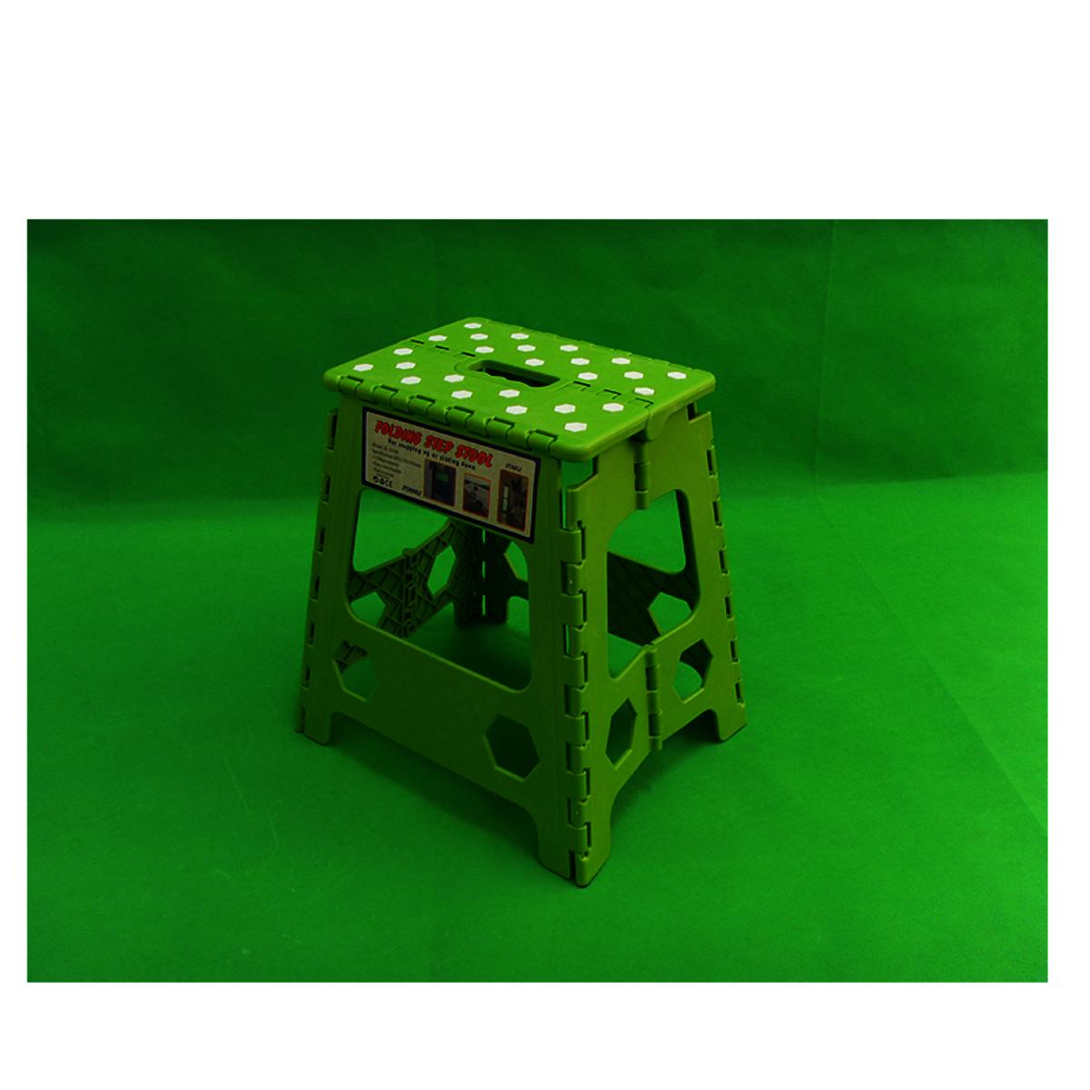Folding chair (39cm)-2pcs random color