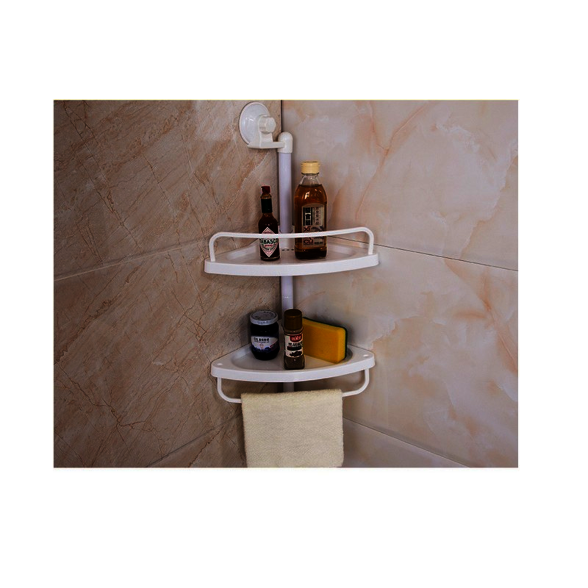 Double trays with suction cup