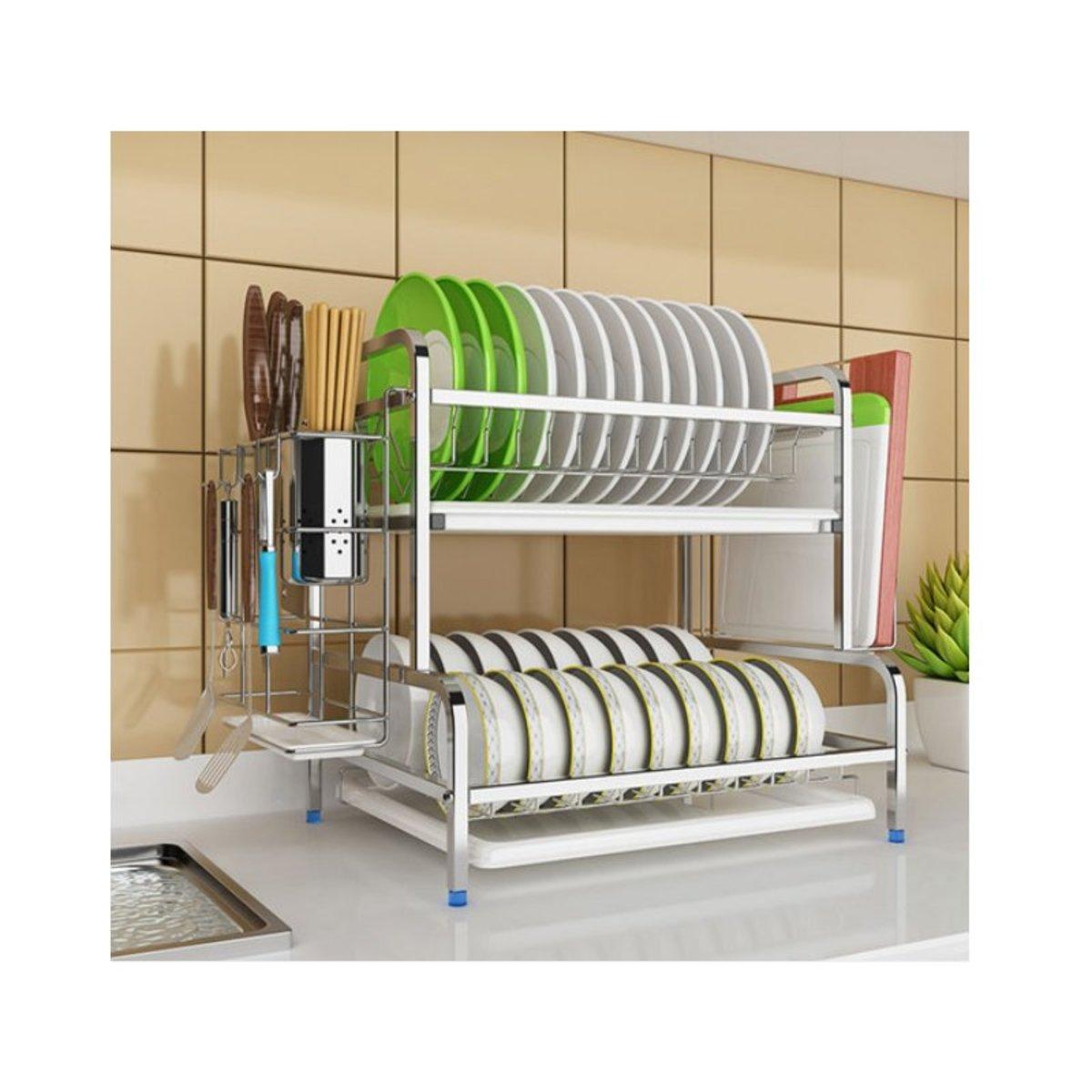 廚房碗盤瀝水置物架