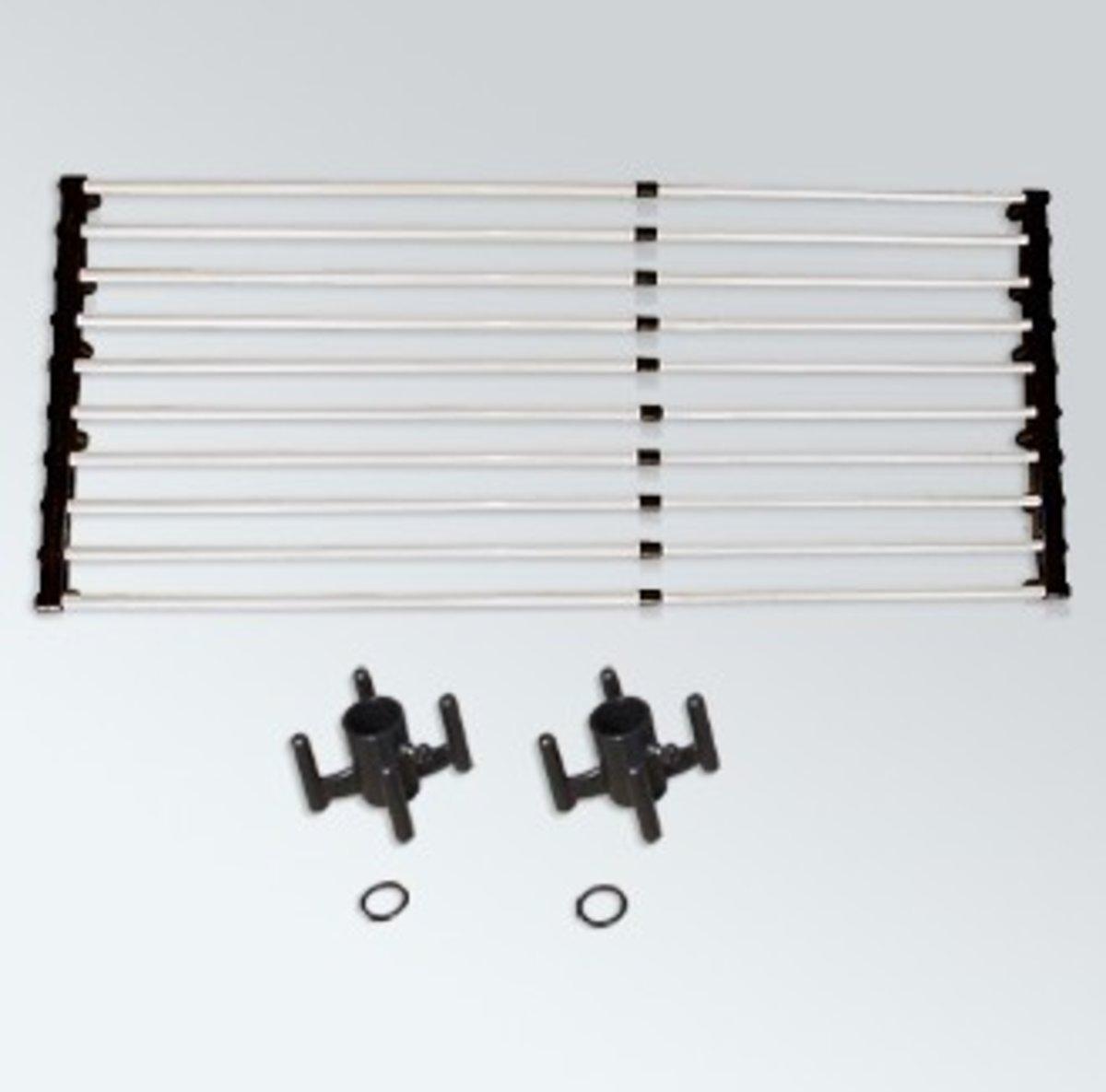 DIY組合衣架-伸縮托盤