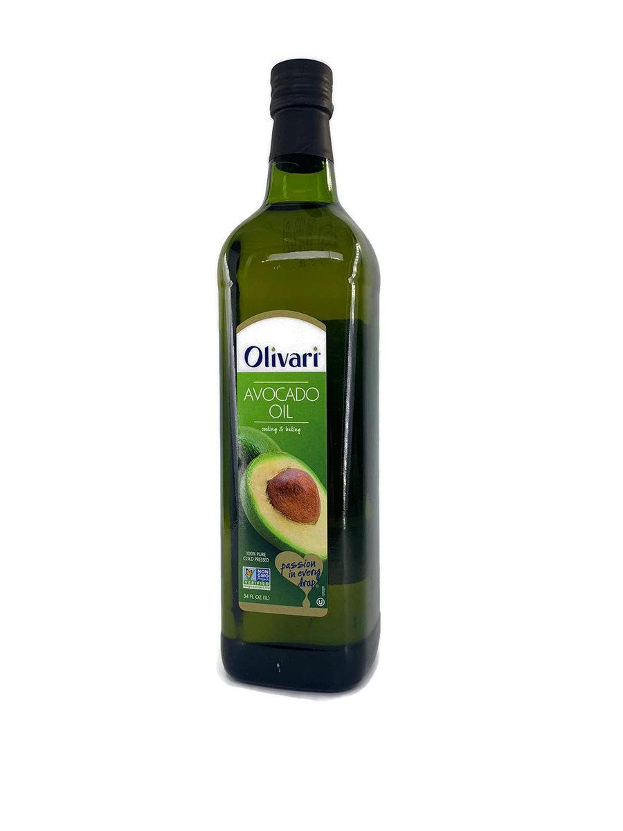 美國 Olivari 100%冷榨純牛油果油 1L