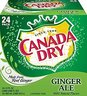 Canada Dry Ginger Ale 354ml x 24