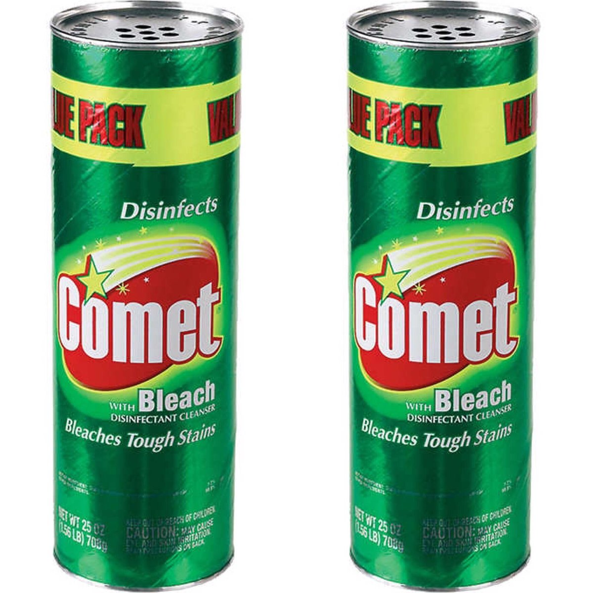 Comet with Bleach Powder Cleaner, 708g x 2