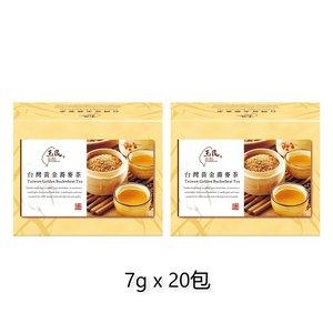 玉民黃金蕎麥 台灣黃金蕎麥茶 7g  - 10包 x 2