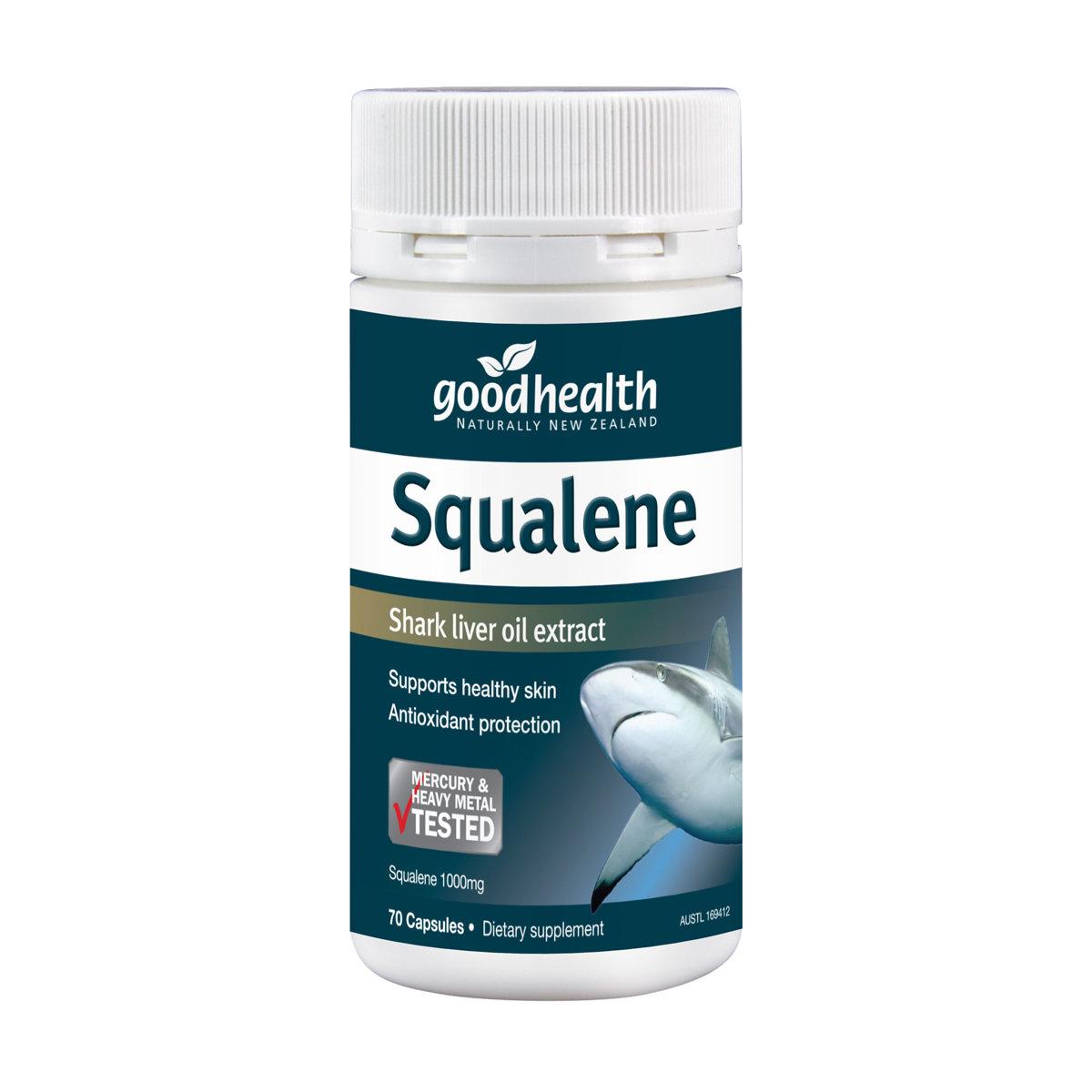 Squalene Shark Liver Oil (70 caps)