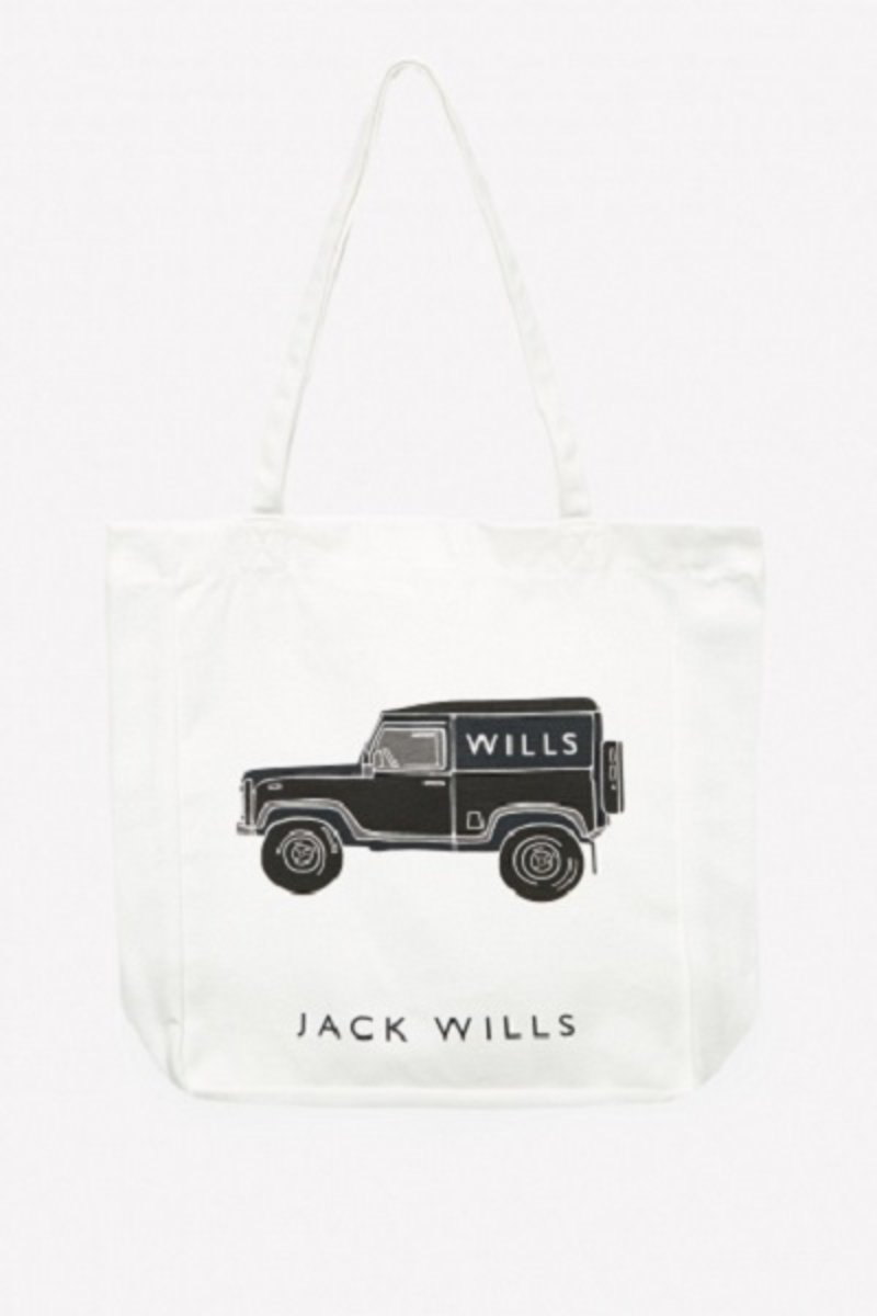Jack Wills Ambleshire Landie Book Bag