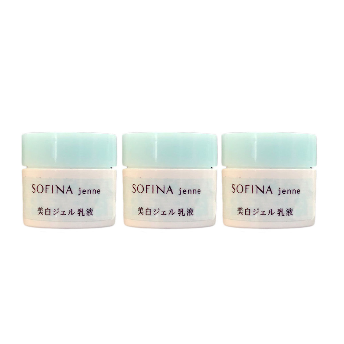 Jenne whiteing jelly moisturizer 3g x 3