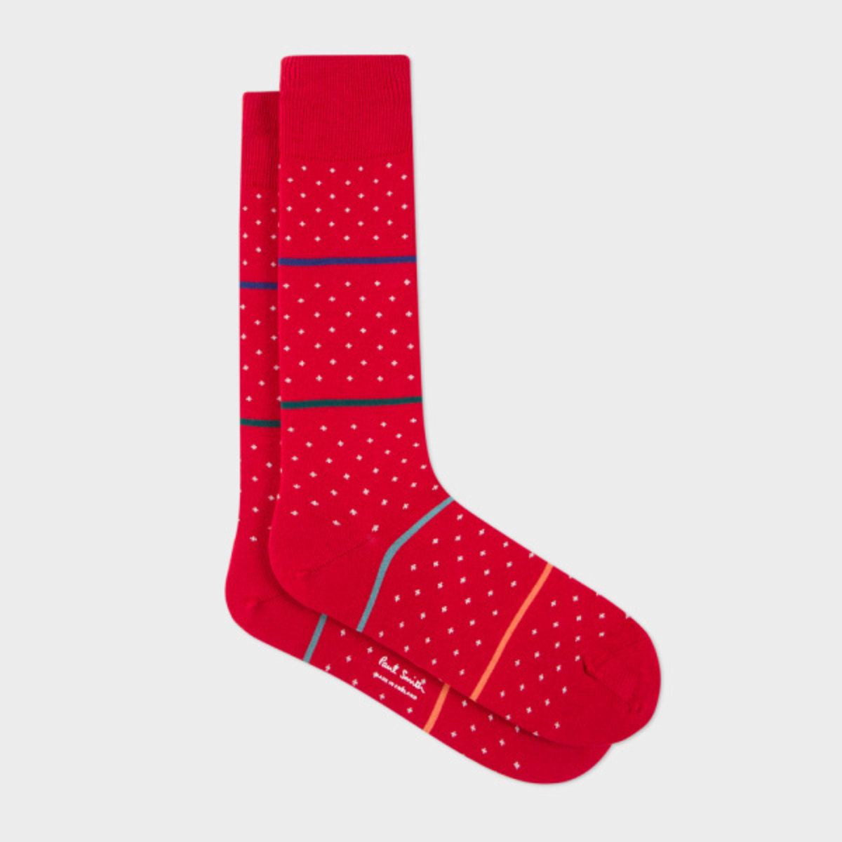 Men' s Red Spot Socks [Parallel Imports Product]