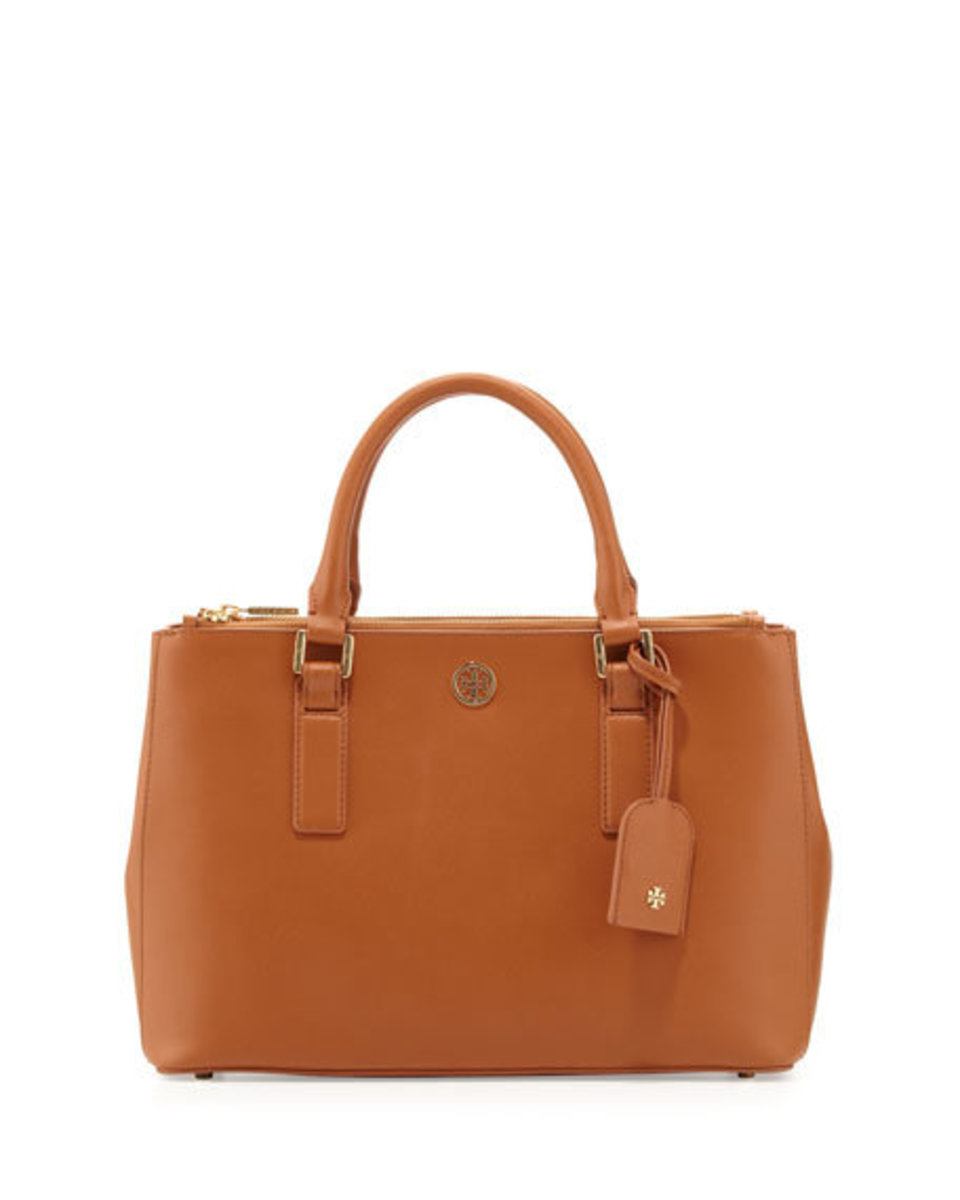 Robinson Mini Double-Zip Tote Bag