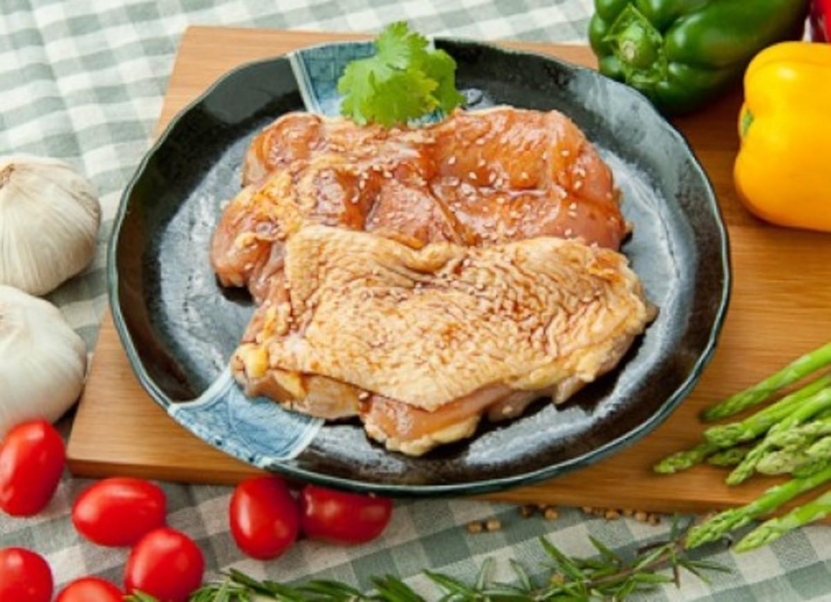 蒜香薄燒雞扒 454G (3-4塊)