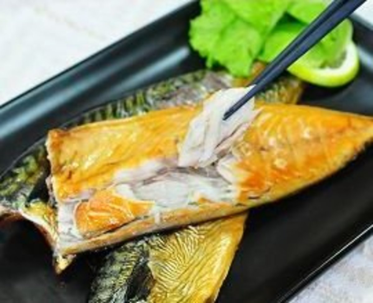 煙鯖魚160g (2-3條)