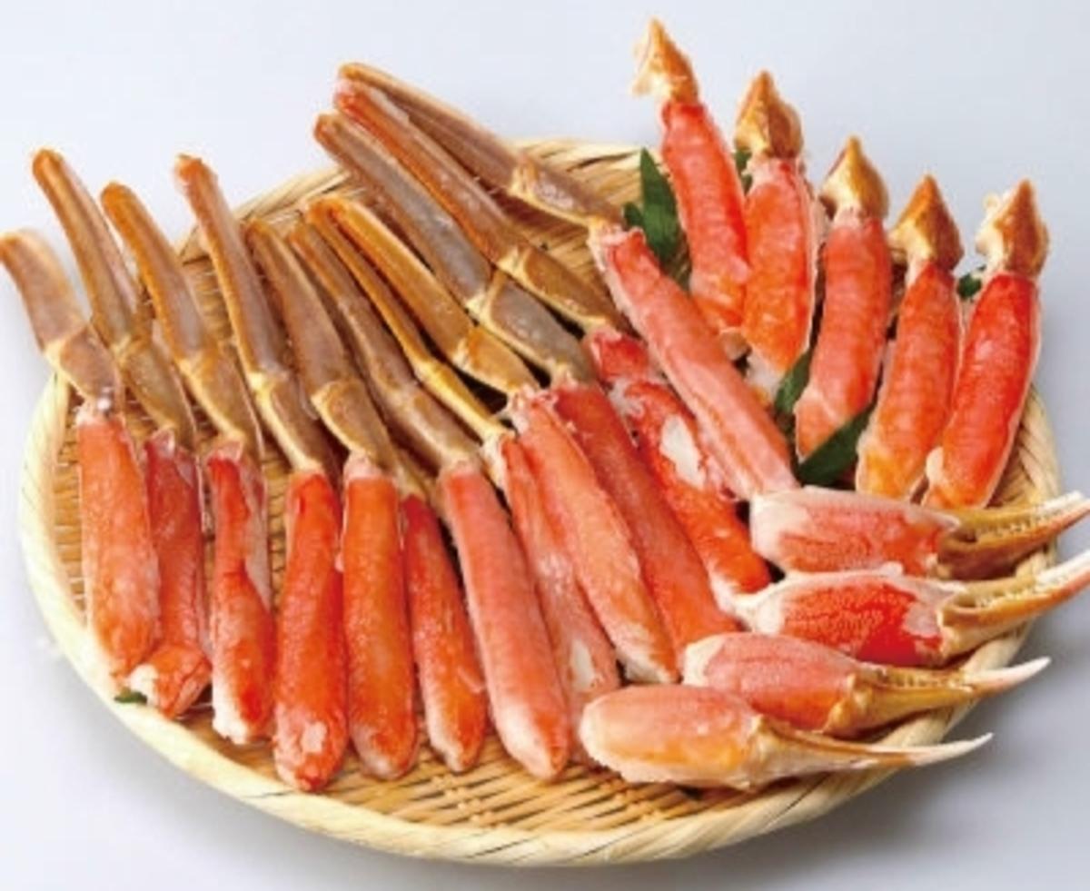松葉蟹件500g