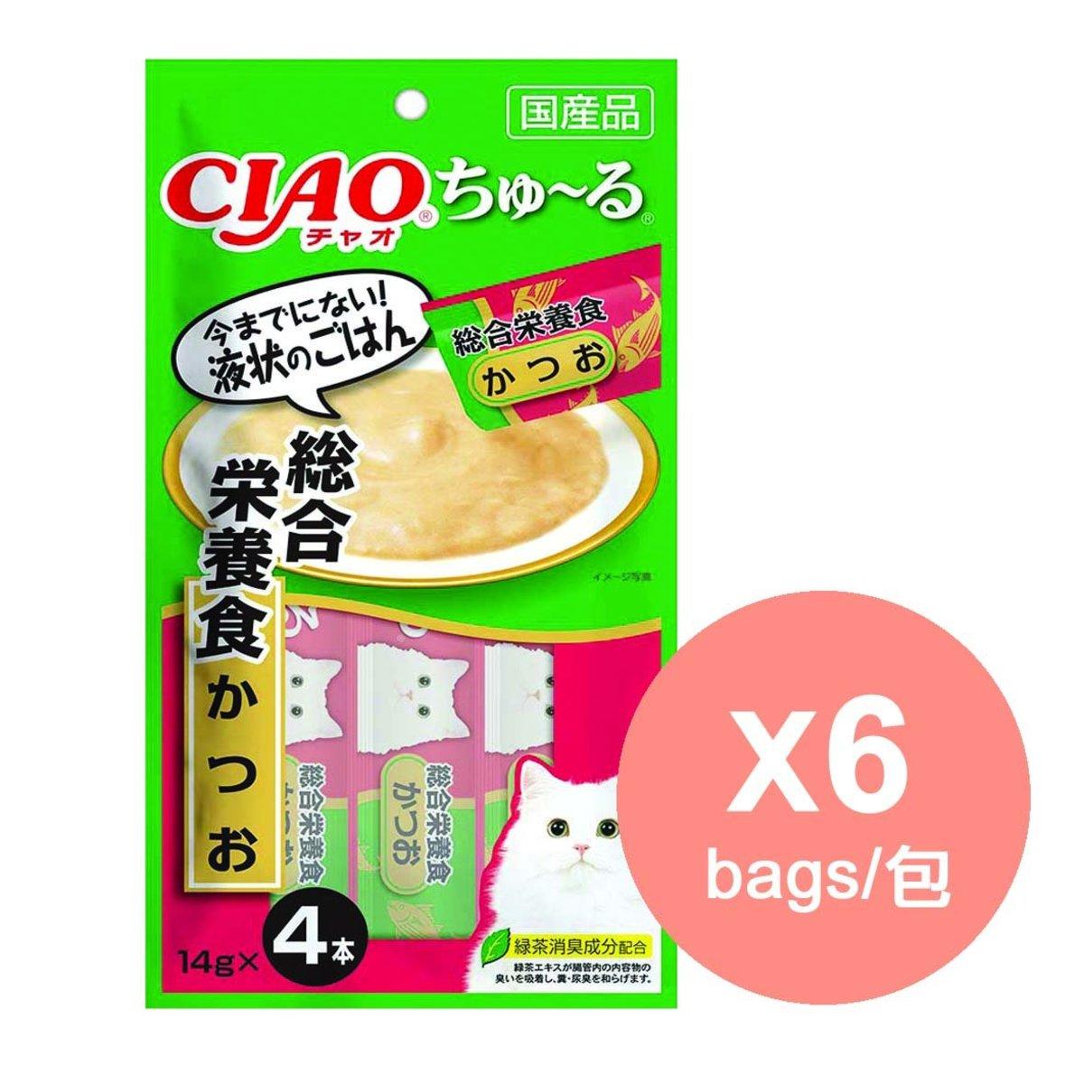 (行貨) INABA 鰹魚醬 綜合營養食SC-158 x6