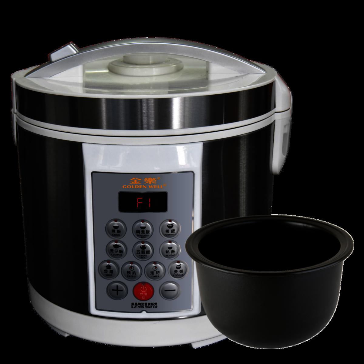 黑晶陶瓷營養飯鍋 GBC-4DE
