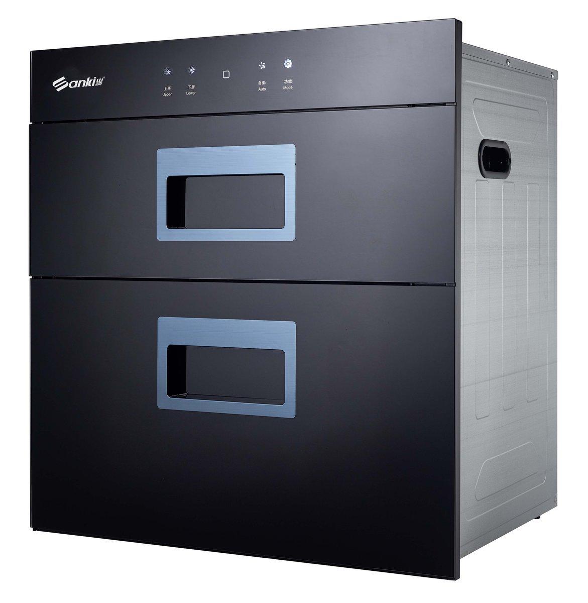 90公升 嵌入式雙門式智能觸摸式光波消毒碗櫃 SK-LW110