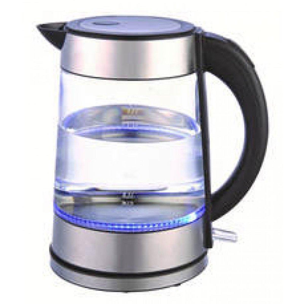 1.7L 發光玻璃快速熱水壺(2200w) SK-P230